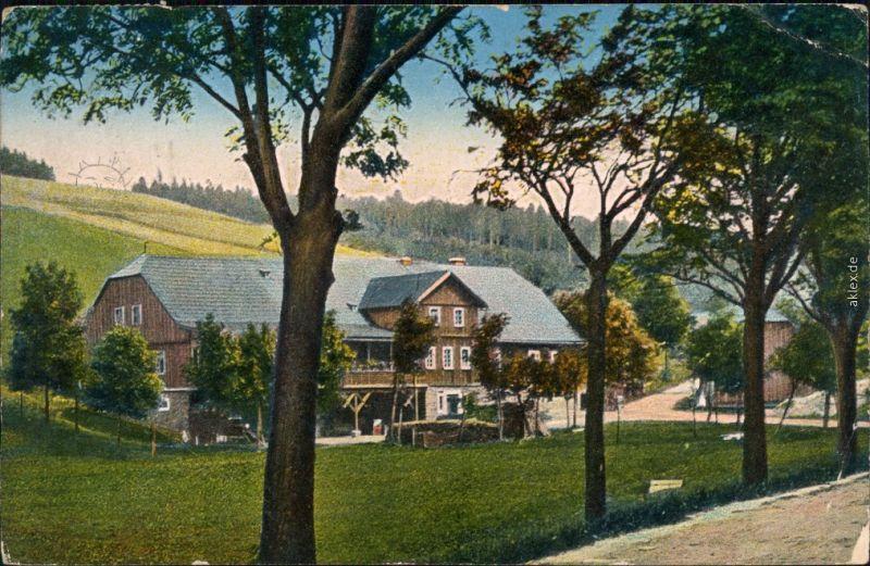 Gießhübel Adlergebirge Olešnice  Horách Weinhaus   Reichenau   Knieschna 1911