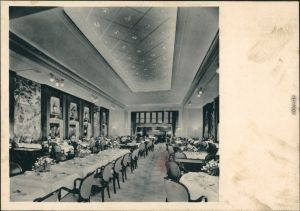 Norddeutscher Lloyd Bremen Express Dampfer Europa Speisesaaal 1928