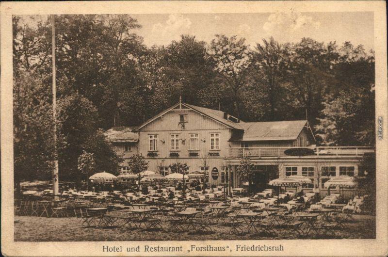 Ansichtskarte Friedrichsruh Hotel & Restaurant