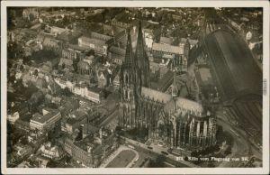 Ansichtskarte Köln Luftbild - Kölner Dom 1934