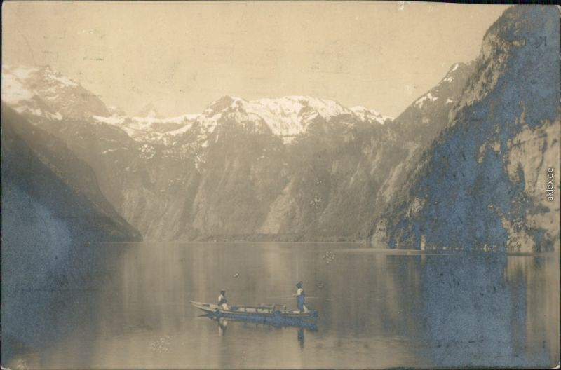 Ansichtskarte Schönau am Königssee Königssee 1916