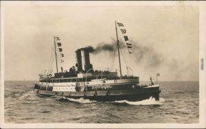 Norddeutscher Lloyd - Dampfer Vorwärts Ocean Comfort Company  Bremen 1925