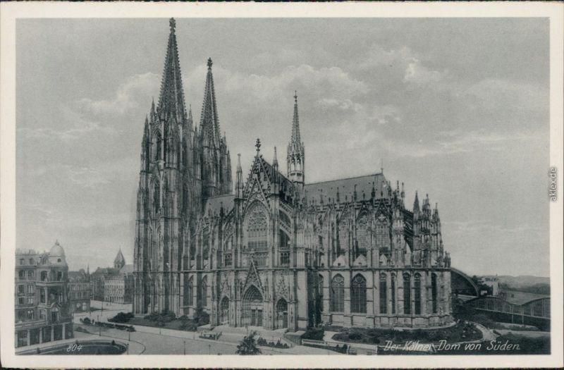 Ansichtskarte Köln Kölner Dom 1915