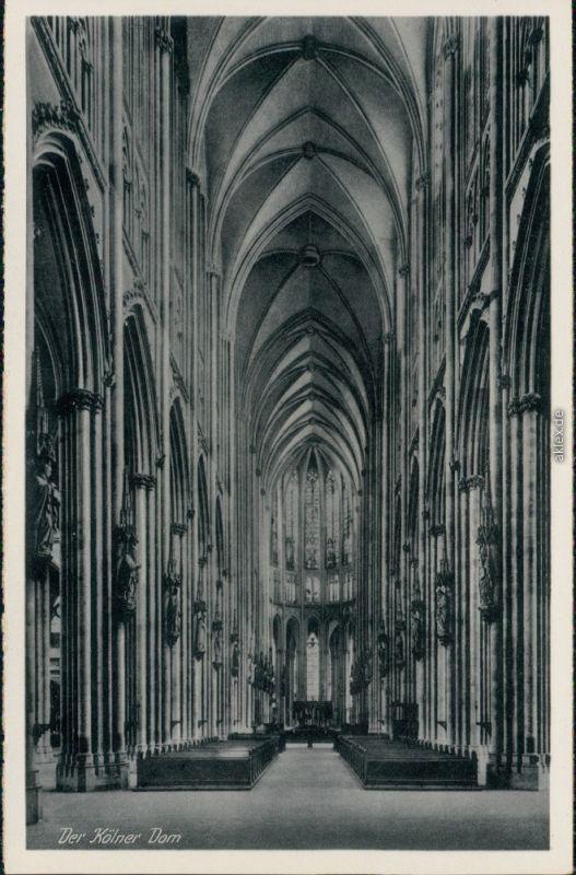 Ansichtskarte Köln Kölner Dom 1920