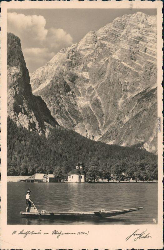 St. Bartholomä-Schönau am Königssee St. Bartholomä am Königssee   1936
