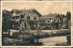 Glatzen-Marienbad Kladská Mariánské Lázně Herrschaftsgebäude b Cheb Eger 1942