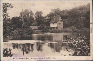 Deutschmühlental-Saarbrücken Deutsch-Französischer Garten -   1925