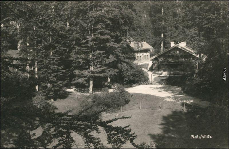 Dittersbach (Böhm. Schweiz) Jetřichovice  Balzhütte b Tetschen Decin 1927