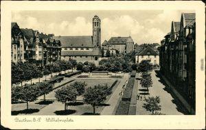 Ansichtskarte  Beuthen O.S. Bytom   Beuthn Wilhelmsplatz 1939