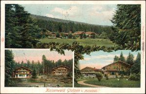 Glatzen Marienbad  Mariánské Lázně Kaiserwald, Gasthaus 3B b Ecger Cheb  1918
