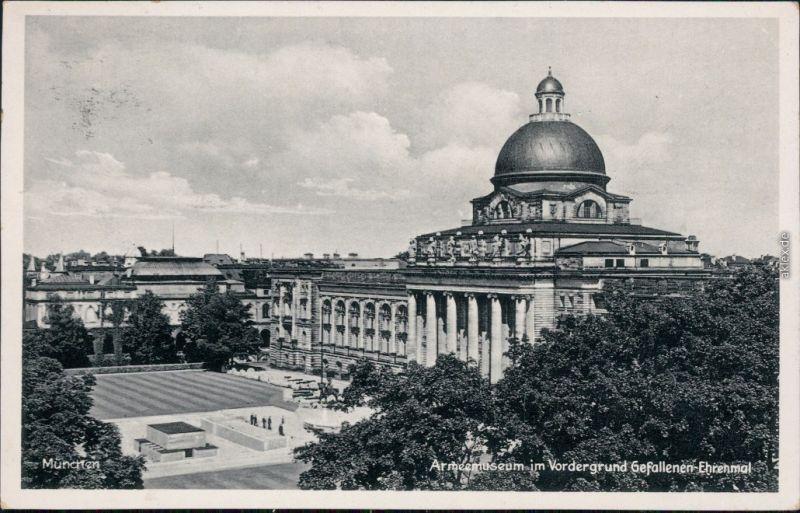 Ansichtskarte München Armeemuseum 1939