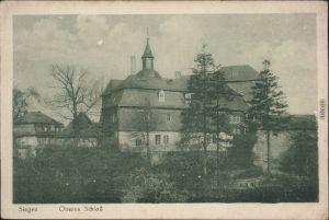 Ansichtskarte Siegen Oberes Schloss 1920
