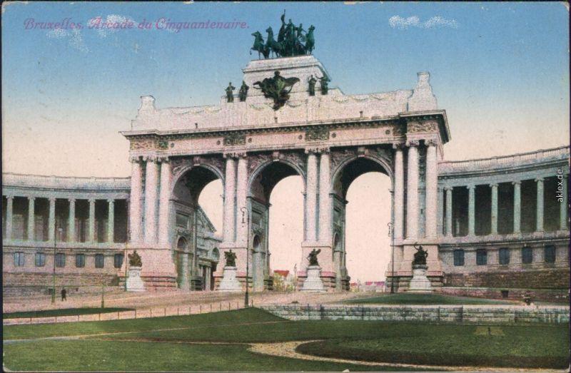Etterbeek-Brüssel Bruxelles  Parc/Arcade du Cinquantenaire 1916