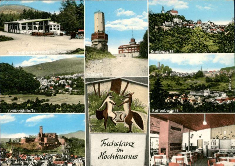 Ansichtskarte Königstein (Taunus) Restaurant