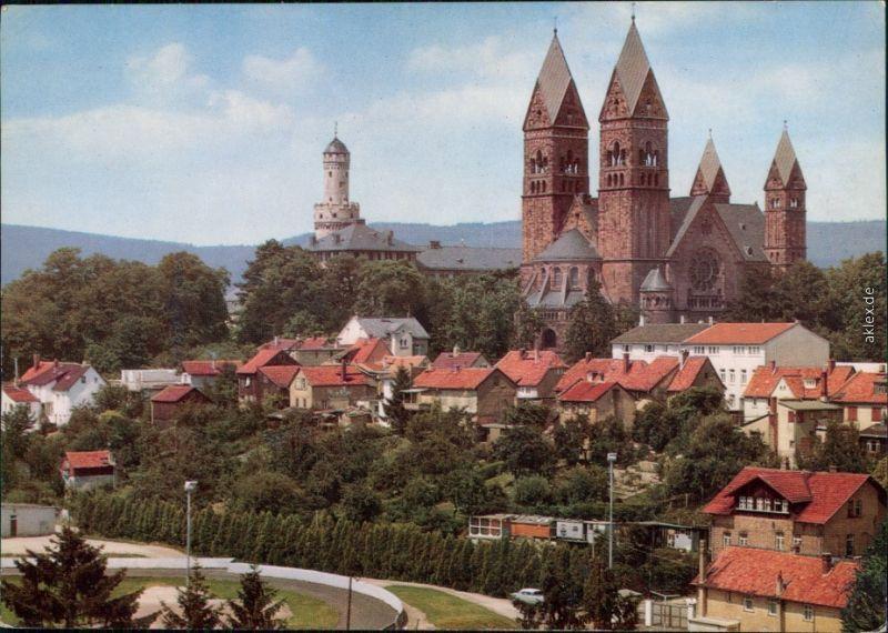 Bad Homburg vor der Höhe Kaiserliches Schloß und Erlöserkirche 1977