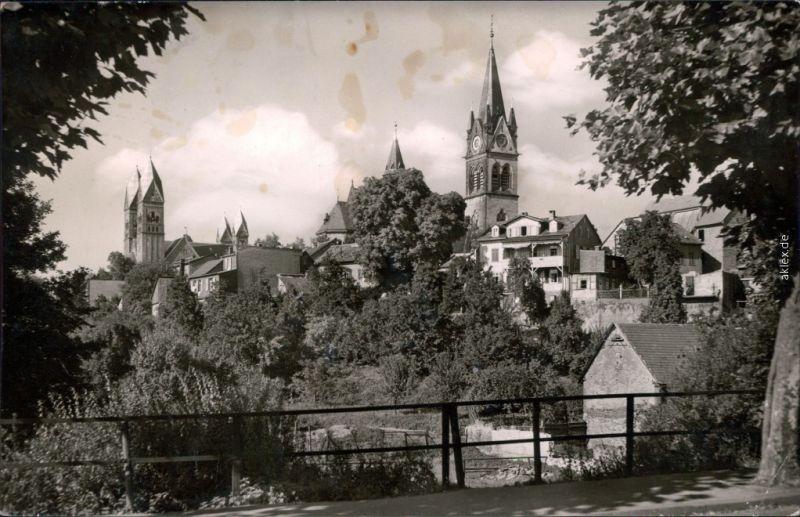 Bad Homburg vor der Höhe St. Marienkirche und Erlöserkirche 1960
