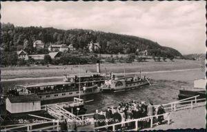 Rathen Sächsische Dampfschifffahrt (Weiße Flotte), Friedensburg 1962