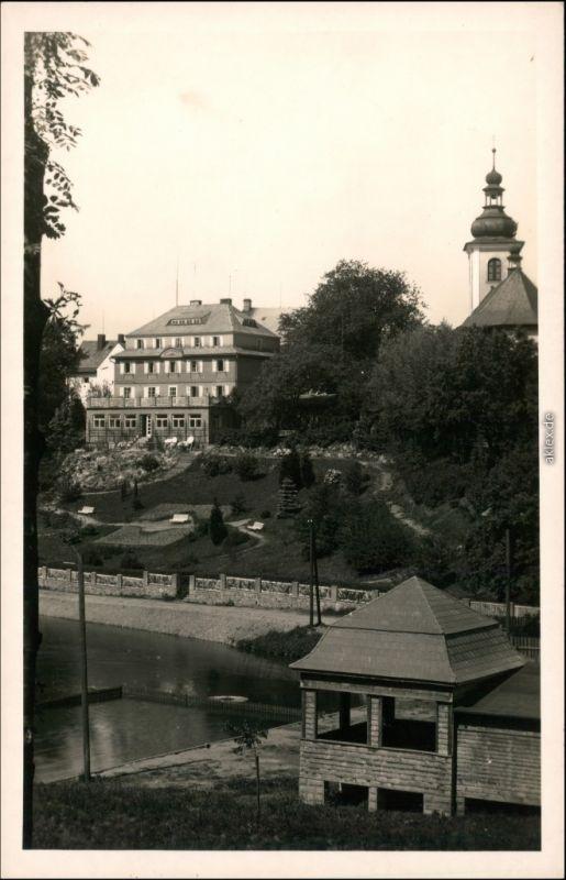 Rokitnitz (Adlergebirge) Rokytnice Anlagen, Hotel - Adlergebirge 1930