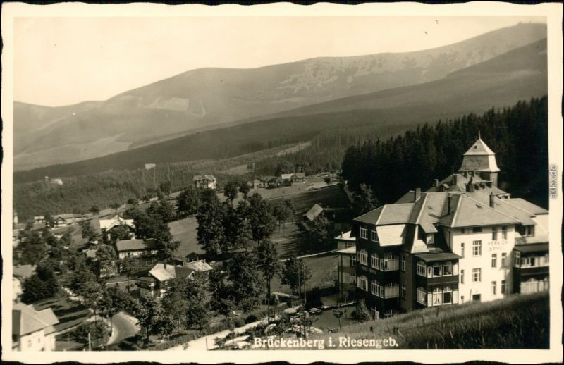 Brückenberg-Krummhübel Karpacz Górny Karpacz Stadt, Hotel 1932