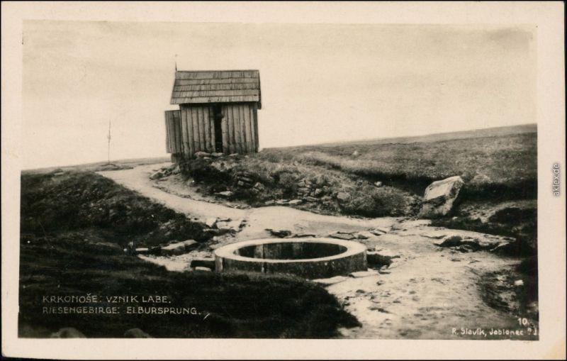 Spindlermühle Špindlerův Mlýn | Spindelmühle Riesengebirge - Elbursprung 1932