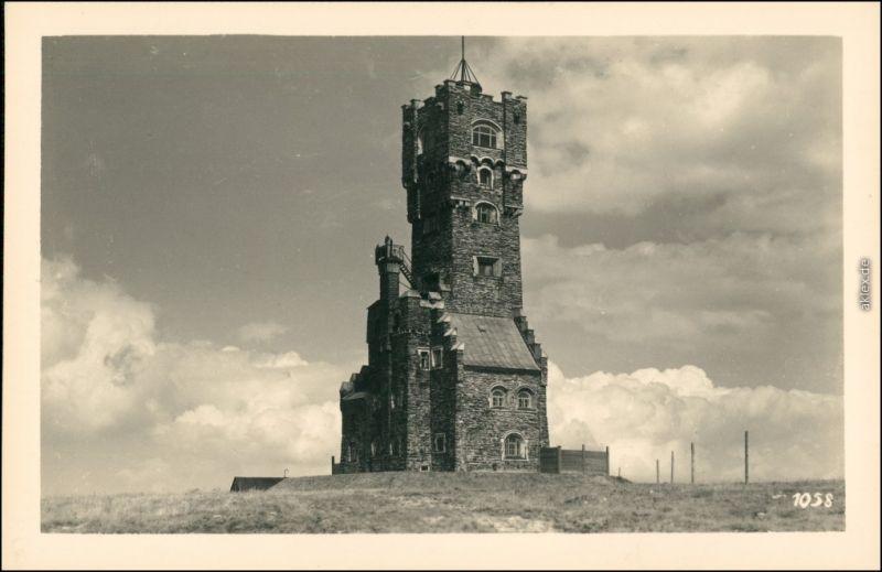 Ansichtskarte Freudenthal (Schlesien) Bruntál Turm Mährisch-Schlesien 1935