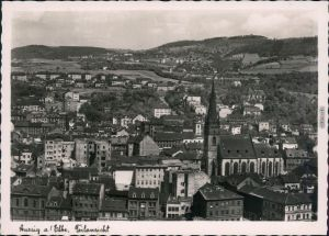 Ansichtskarte Aussig Ústí nad Labem (Ustji, Ustjiss) Teilansicht 1940