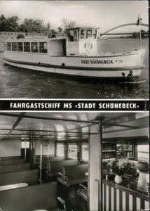 Ansichtskarte Magdeburg Weiße Flotte Magdeburg 1978