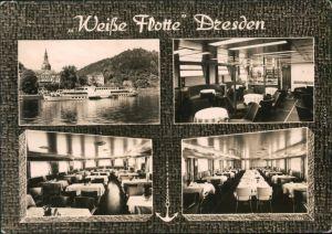 Ansichtskarte Dresden Sächsische Dampfschifffahrt (Weiße Flotte) 1975