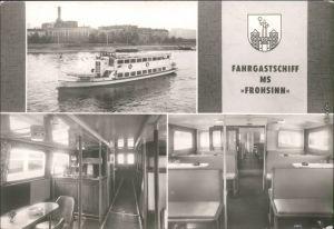 Ansichtskarte Magdeburg Weiße Flotte Magdeburg 2 1978