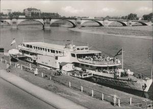 Ansichtskarte Dresden Sächsische Dampfschifffahrt (Weiße Flotte) 1965