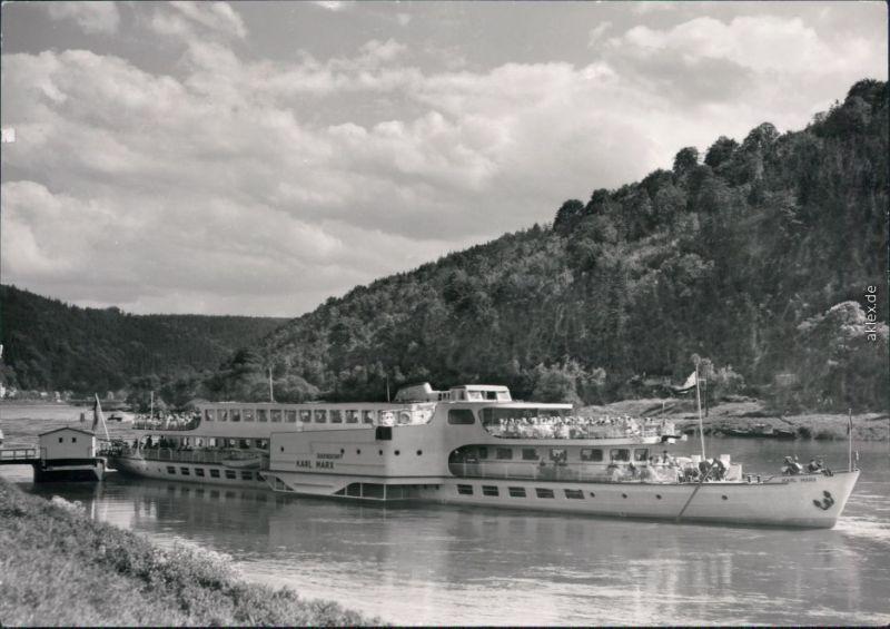 Schmilka Sächsische Dampfschifffahrt (Weiße Flotte) MS