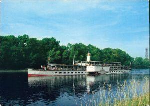 Dresden Sächsische Dampfschifffahrt Weiße Flotte-Personendampfer