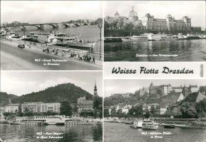Ansichtskarte Dresden Sächsische Dampfschifffahrt (Weiße Flotte) 1980