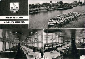 Ansichtskarte Magdeburg Weiße Flotte Magdeburg MS