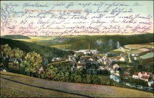 Einsiedel-Chemnitz Karl-Marx-Stadt Blick auf die Papierfabrik 1911