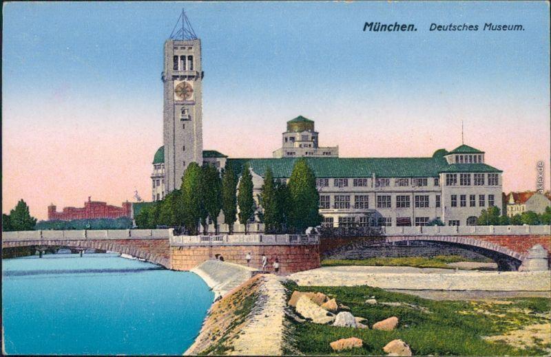 Ansichtskarte München Deutsches Museum 1926