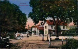 CPA Blâmont (Blankenberg) Bahnhofstraße 1917