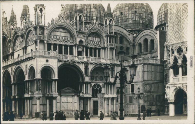 Ansichtskarte Venedig Venezia Markusdom (Basilica di San Marco) 1932