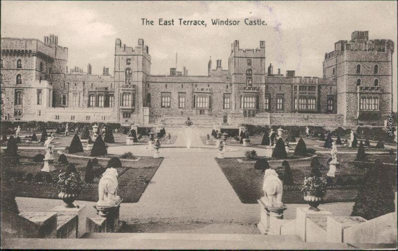Ansichtskarte Windsor Windsor Castle Schloss 1917