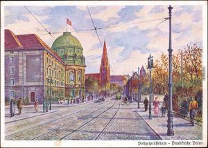 Ansichtskarte Posen Poznań Paulikirche 1940