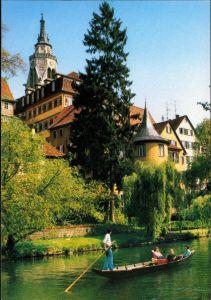 Tübingen Hölderlinturm, Alte Aula und Stiftskirche/St. Georgs-Kirche 1980