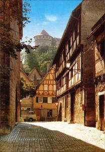 Ansichtskarte Tübingen bei der Jakobuskirche mit Blick auf das Schloss 1980