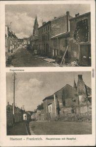 Blâmont (Blankenberg) 2 Bild: Engelstrasse und Hauptstraße 1915