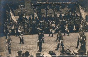 Ansichtskarte Leipzig Festumzug 500-jähriges Jubiläum der Universität 1909