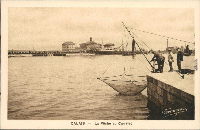 Netz Spannen cpa calais fischer spannen netz auf 1926 nr 111423 oldthing