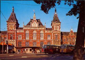 Amsterdam Amsterdam Hauptbahnhof / Central Station / Centraal station 1970