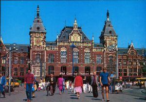 Amsterdam Amsterdam Hauptbahnhof / Central Station / Centraal station 1985