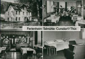 Ansichtskarte Cursdorf Cursdorf Ferienheim