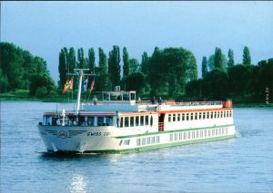 Ansichtskarte Basel Fahrgastschiff MS Switzerland II 1998