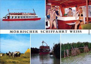 Ansichtskarte Mörbisch am See Mörbischer Schiffahrt Weiss 1985
